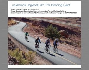 LosAlamosRegionalBikeTrailPlanningEvent